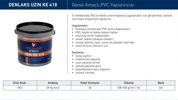 Uzin KE-418 Genel Amaçlı PVC Yapıştırıcısı