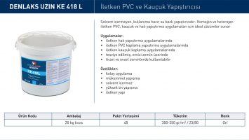 Uzin KE 418L – İletken PVC ve Kauçuk Yapıştırıcısı