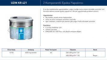 UZIN KR 421 – 2 Komponentli Epoksi Yapıştırıcı
