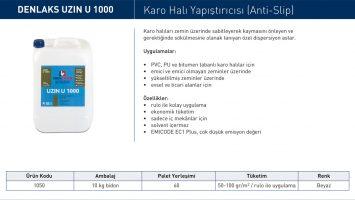 UZIN U 1000 – Karo Halı Yapıştırıcısı (Anti-Slip)